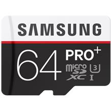 SAMSUNG PRO Plus 64GB MicroSDXC Memory Card with Adapter